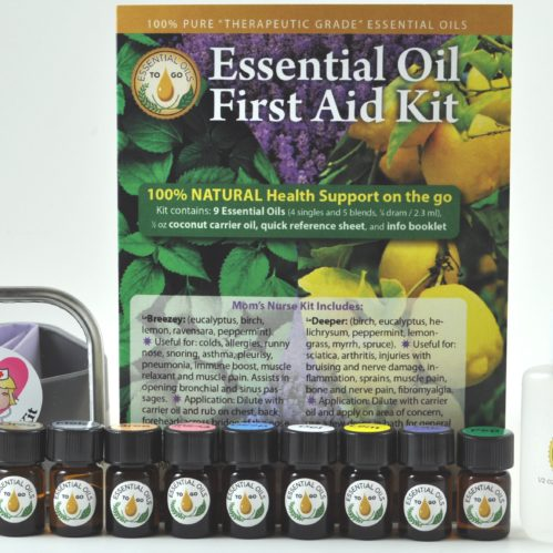 ALL Natural first aid - on the go!