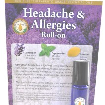 Headaches and Allergies Roll-on